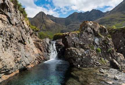 Isle of Skye Fairy Pools with Private Tours of Scotland