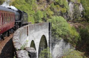 Jacobite Steam Train Harry Potter